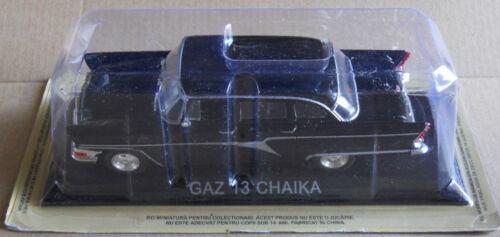 DIE CAST  GAZ 13 CHAIKA  LEGENDARY CARS SCALA 1/43