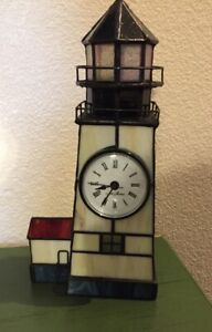 Stained-Glass-Lighthouse-Clock-Seth-Thomas