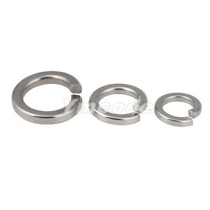 Details about M1 6-M12 Stainless steel Spring lock washers,Square ends  Spring washer DIN127