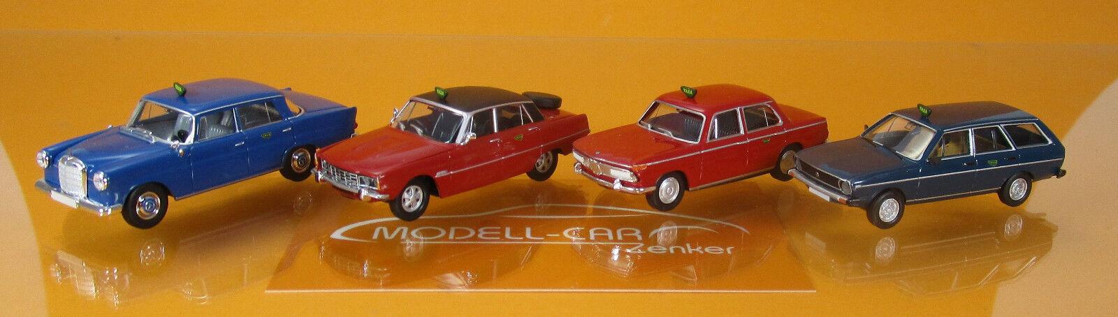 Brekina 90467 économies 2  qui  de dk (BMW, MB 190 C, Rover, VW Passat)