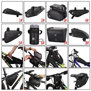 SAHOO-Bike-Bicycle-Saddle-Bag-Waterproof-Water-Bottle-Bag-Cycling-Tail-Bag-Black
