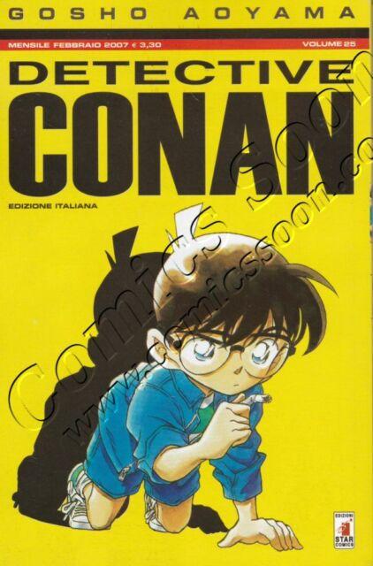 DETECTIVE CONAN 25 - Star Comics - NUOVO