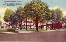 IRVINE'S TOURIST COURT and COLONIAL HOMES, BARDSTOWN, KY.