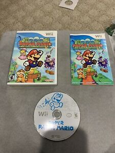 Super-Paper-Mario-Nintendo-Wii-Complete-Game-Case-amp-Manual-Tested