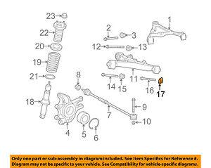 jaguar oem 09 15 xf rear suspension lower control arm nut c2p7445 ebay rh ebay com jaguar xj8 rear suspension diagram jaguar x300 rear suspension diagram