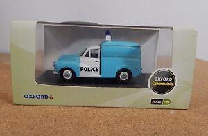 Oxford Diecast P008 Morris Minor Police Van 1:43 scale