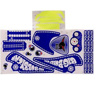 Big Bobby Car Stickers Aufkleberset Police Polizei Politie GüNstigster Preis Von Unserer Website Spielzeug Bobby Car