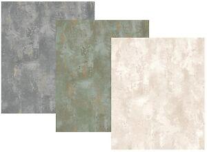 vliestapete stein optik patina patiniert spachtel grau gold olivgold creme beige ebay. Black Bedroom Furniture Sets. Home Design Ideas