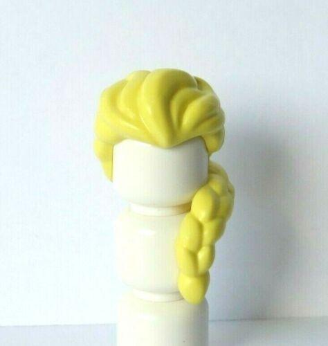 Lego 1 Hair Wig For Female Girl Minifigure Long Blonde Braid Over Shoulder Elsa