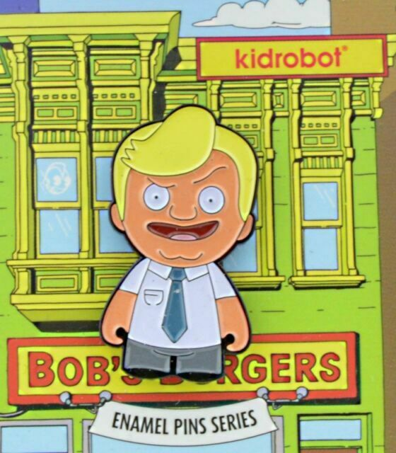 Hugo Kidrobot Bob/'s Burgers Series 1 Enamel Pin