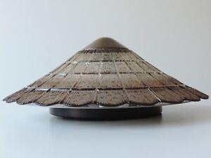 Plafoniere Deckenlampe : Peill & putzler plafoniere deckenlampe lampe glas metall 70er 80er