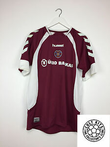 5c4c5d0c4 Image is loading HEARTS-06-07-Home-Football-Shirt-XL-Soccer-