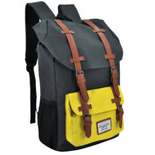 Everyday Deal Travel Laptop Backpack (Grey/Yellow)