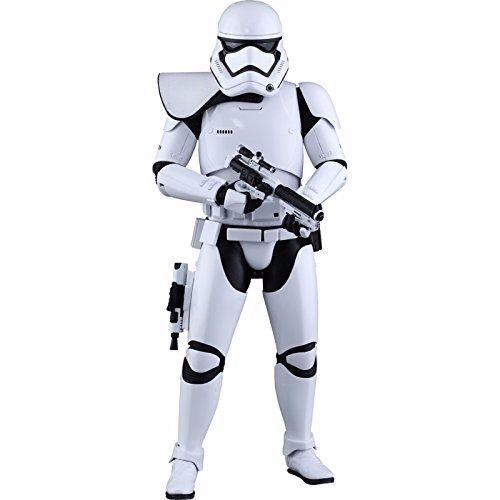 Movie Masterpiece Star Wars Stormtrooper escuadrón líder de primer orden Ver Hot Toys