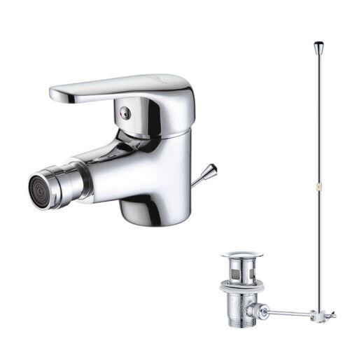 Bidetarmatur Wasserhahn Waschtisch Bidet Armatur Waschbecken mit Ablaufgarnitur