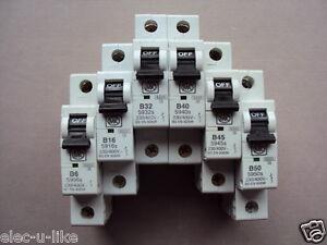 MK SENTRY TYPE B//C 3 6 10 16 20 32 40 45 AMP 59 MCB