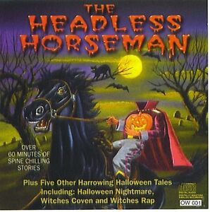 The-Headless-Horseman-1996-cd-Halloween-music-Jack-Dorsey-Witches-Rap-witch-039-s