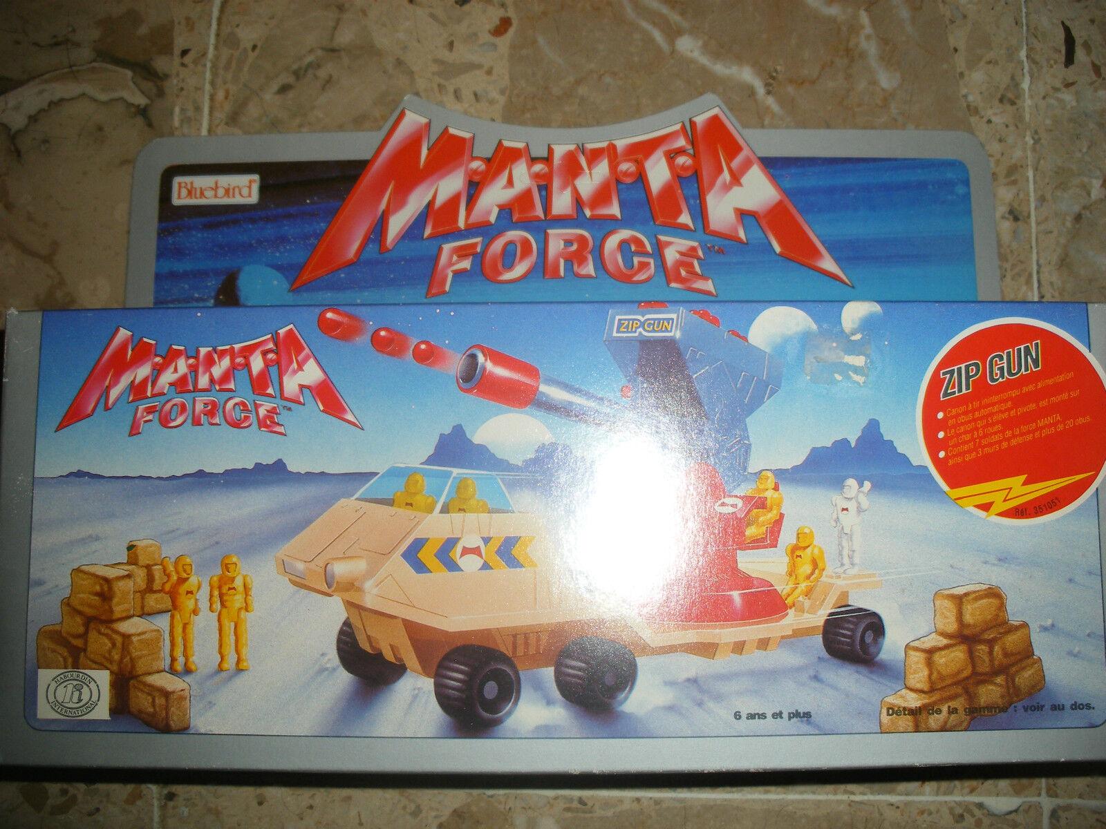 1988 blueebird MANTA FORCE FORCE FORCE Zip Gun  NEUF en boite NEW in Box MISB 78dae3