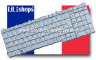 Clavier Français Original Argent Toshiba Satellite L500 L500D L505 L505D Série