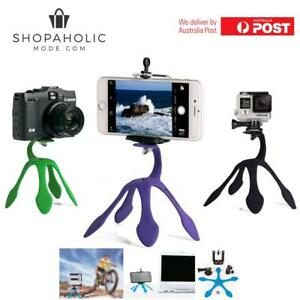 Gekko Mount Flexible GoPro Tripod Pod Phone Mount Camera Grip Lil Gripper