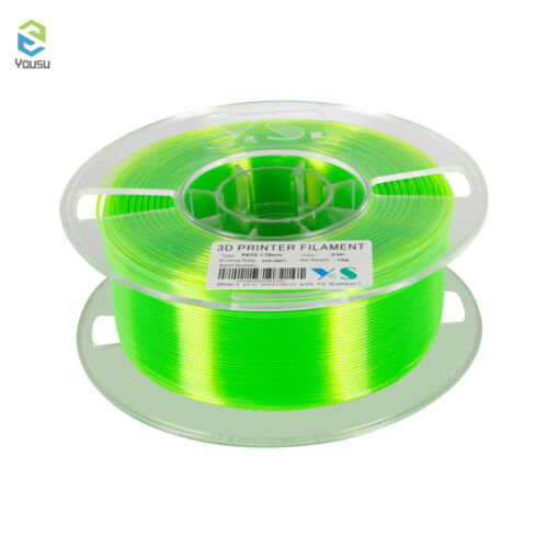 3D Printer Filament 1kg 1.75mm Diameter PETG Consumable for MakerBot RepRap H3R3