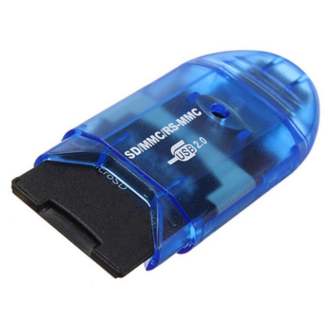 High Speed USB MMC/SD/TF/SDHC Memory Card Reader Writer Adapter Up To 64GB~