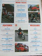 BIKE MAGAZINE JUN 1991 GSX-R1100 FZR1000 BIKERS' CAFF HARLEY'S SPORTSTER LOWRIDE