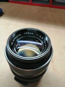 Vivitar-105mm-f2-8-Auto-Telephoto-lens-M42-Excellent-Made-by-Tokina