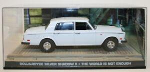 Fabbri-1-43-escala-Diecast-Rolls-Royce-Silver-Shadow-II-El-mundo-no-es-suficiente