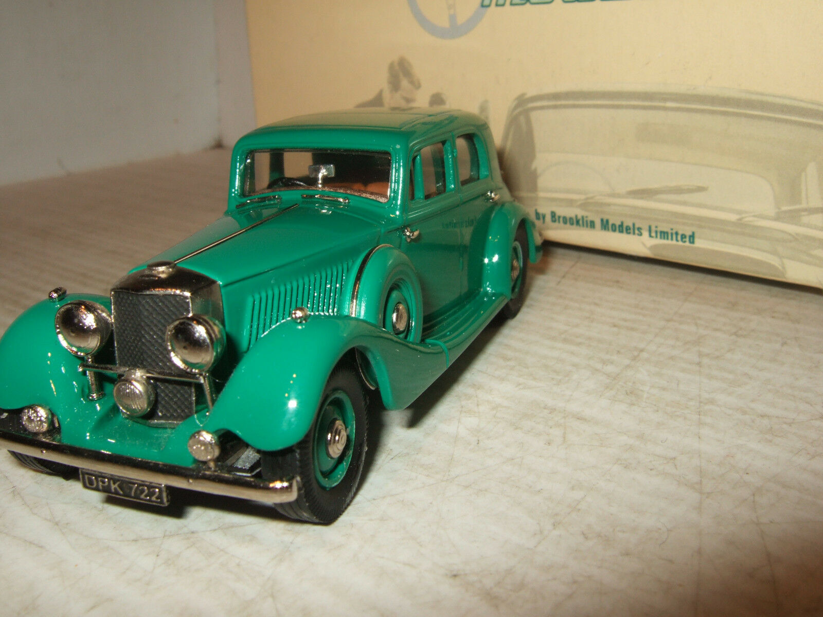 Lansdowne modelos bajo 79 1936 Railton Cobham Saloon en escala 1 43.
