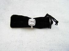 PIPPA MIDDLETON REPRO ENGAGEMENT RING * MADE WITH SWAROVSKI  ~ ART DECO STYLE