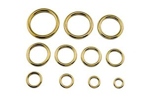 Modellbau Messing-Ringe 8 mm