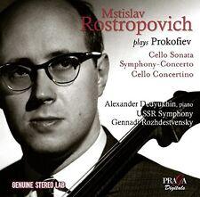 Mstislav Rostropovic - Mstislav Rostropovich Plays Prokofiev [New CD]