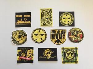 Borussia Dortmund 10 Adesivi Ultras Pegatinas Aufkleber Sticker Desperados Unity Ebay