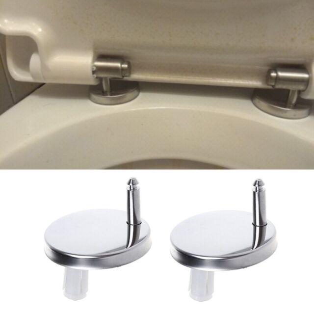 Prime 2Pcs Top Fix Wc Toilet Seat Hinges Fittings Quick Release Cover Hinge Screw Machost Co Dining Chair Design Ideas Machostcouk