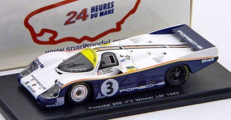 PORSCHE 956 No.3 1982 Le Mans Winner