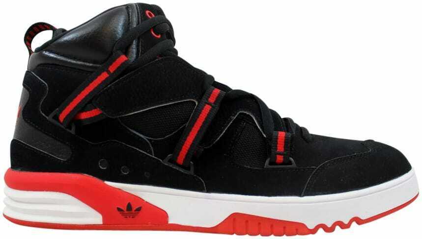 Adidas RH Instinct Black Scarlet Red-White Q32908 Men's Size 12