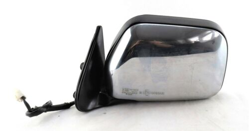 Left Side Passenger 89-97 Toyota Hilux MK2 Electric Door Mirror Chrome