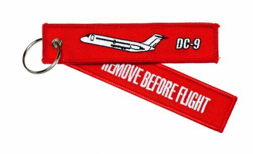 Remove Before Flight Anhänger DC9 Douglas DC-9