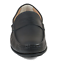 Florsheim-Fuego-Moc-Toe-Penny-Loafer-Made-In-Italy-Black-Leather-52550A-A01 thumbnail 7