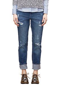 details zu s oliver stretch jeans damen hose denim casual boyfriend. Black Bedroom Furniture Sets. Home Design Ideas