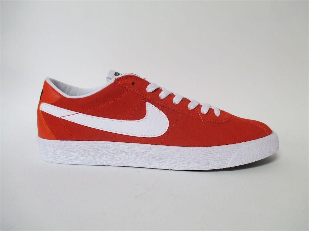 Nike SB Bruin Max orange White Black Sz 10 877045-811