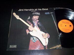 """Jimi Hendrix """"Jimi Hendrix At His Best (Volume 1)"""" LP SagaPan – 6313 Uk 1972"""