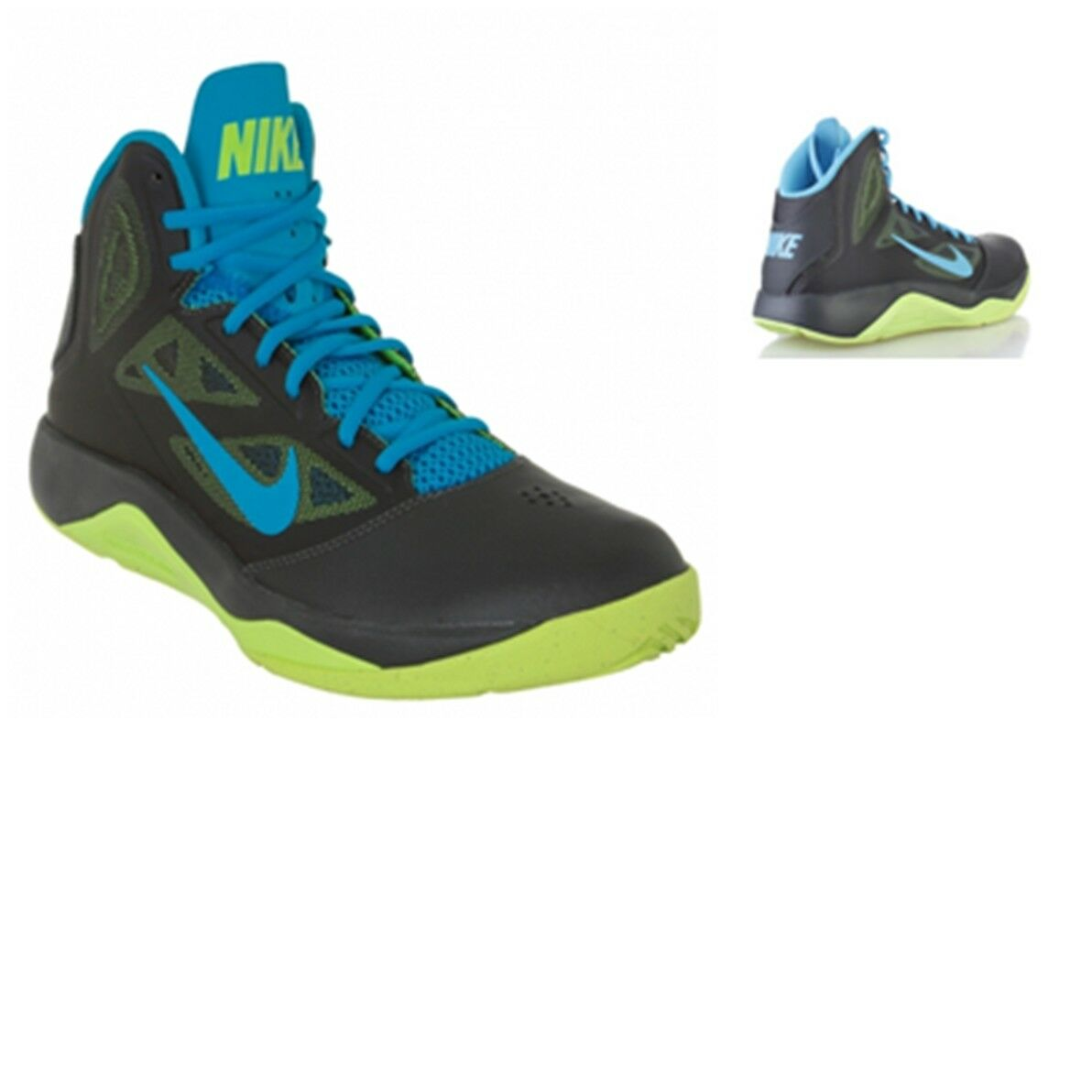 NIKE SHOES GYM DUAL FUSION MEN MEN MEN BASKETBALL GYM SHOES 610202 007 6025a2
