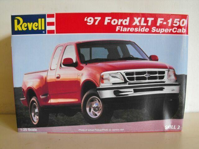 Revell 1997 Ford Xlt F 150 Flareside Supercab Pickup Truck Model Kit For Sale Online Ebay