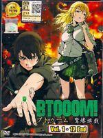 BTOOOM! VOL. 1-12 END JAPANESE ANIME DVD BOX SET ENG SUB