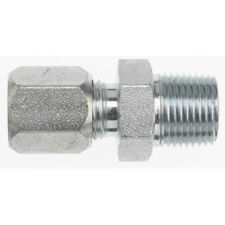 "1//4/"" MS21916K8-4 Hydraulic Fitting Reducer Flareless Tube External Thread 1//2/"""