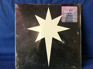 DAVID BOWIE NO PLAN RSD 2017 COLORED MINT SEALED