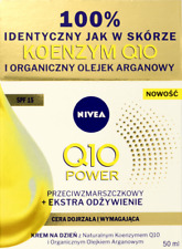 Nivea Q10 Power Anti Wrinkle Extra Nourishing Day Cream SPF15 Organic Argan Oil