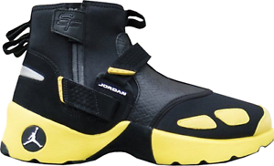 Nike Air Jordan Trunner LX High SOLEFLY SZ 8.5 Nero Yellow Lightning AO4689-012